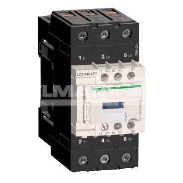 STYCZ.3P AC3-40A,NZ+NO,230V 50/60HzLC1D40AP7